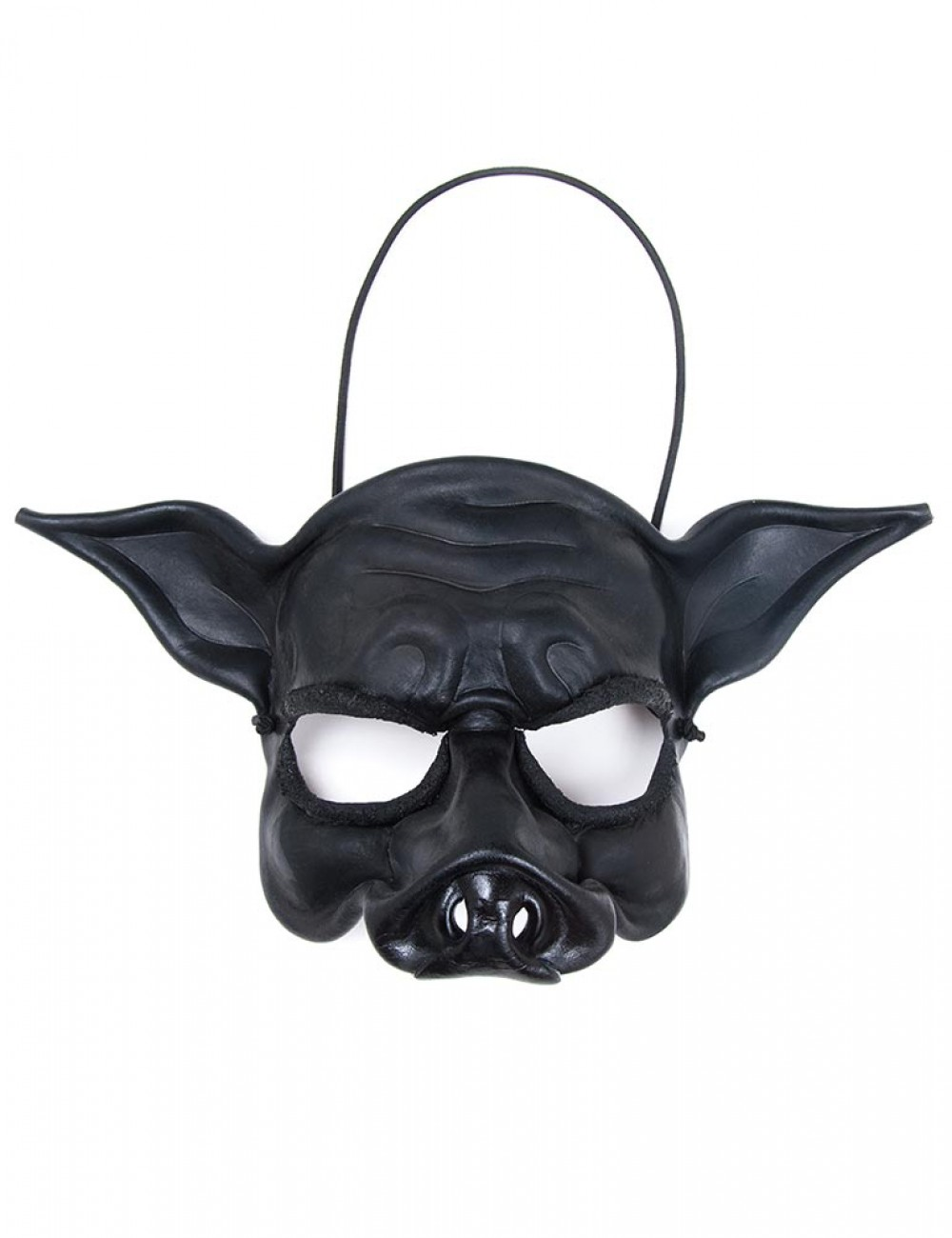 Black Pig Face Mask