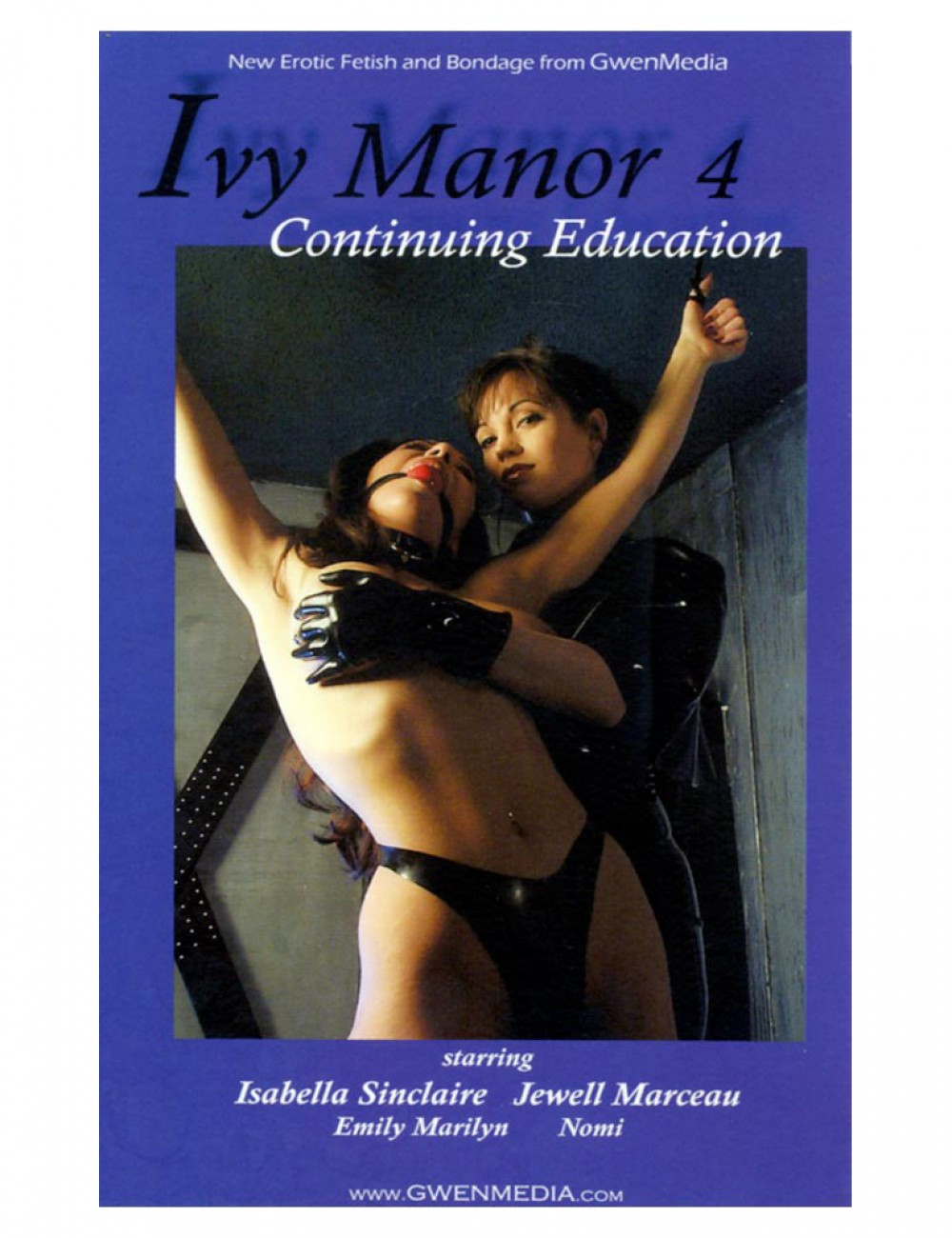 Ivy Manor 4 - Continuing Education, DVD