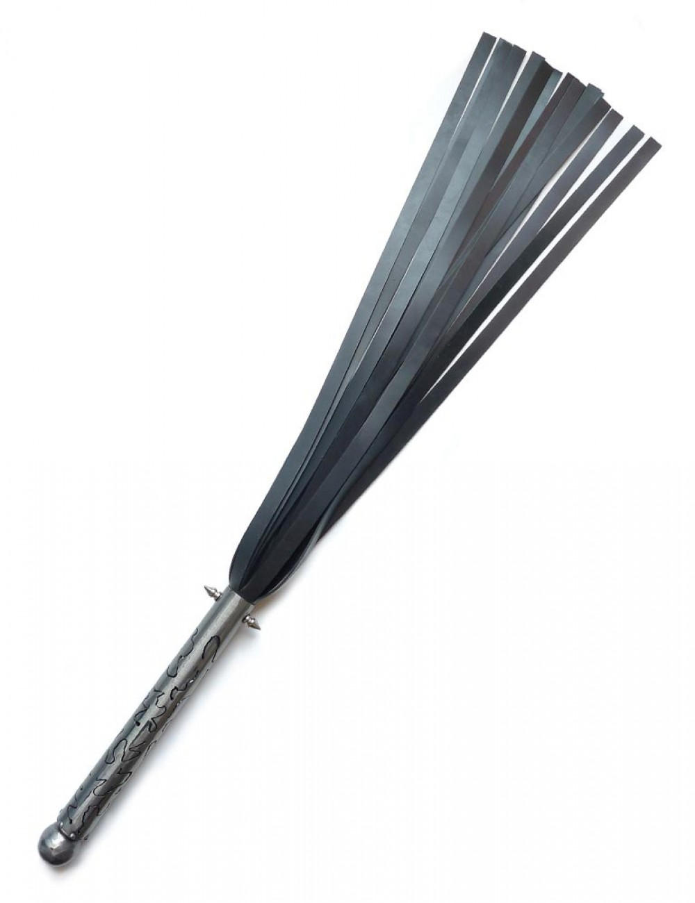 """Sex and Metal Silicone Flogger """"The Inspirer"""""""