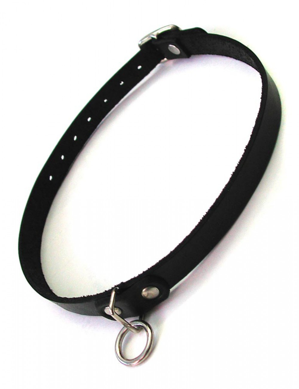 The Leather Choker With O-Ring