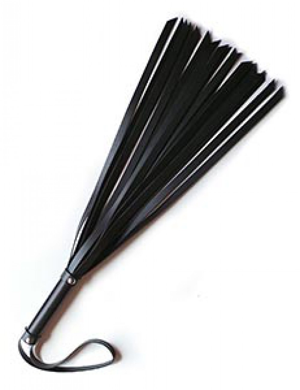 "12"" Basic Leather Flogger"