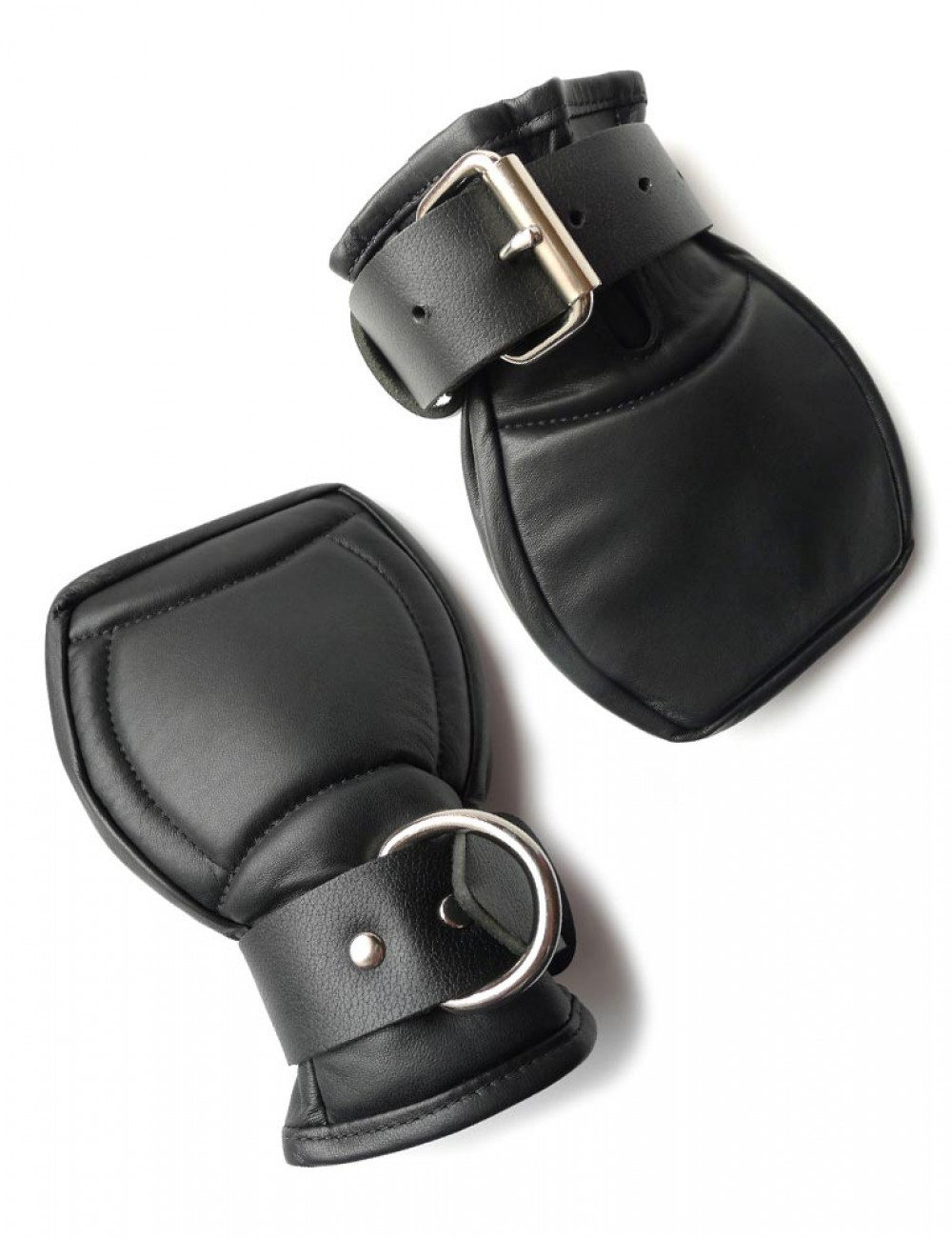 Deluxe Padded Fist Mitts Leather