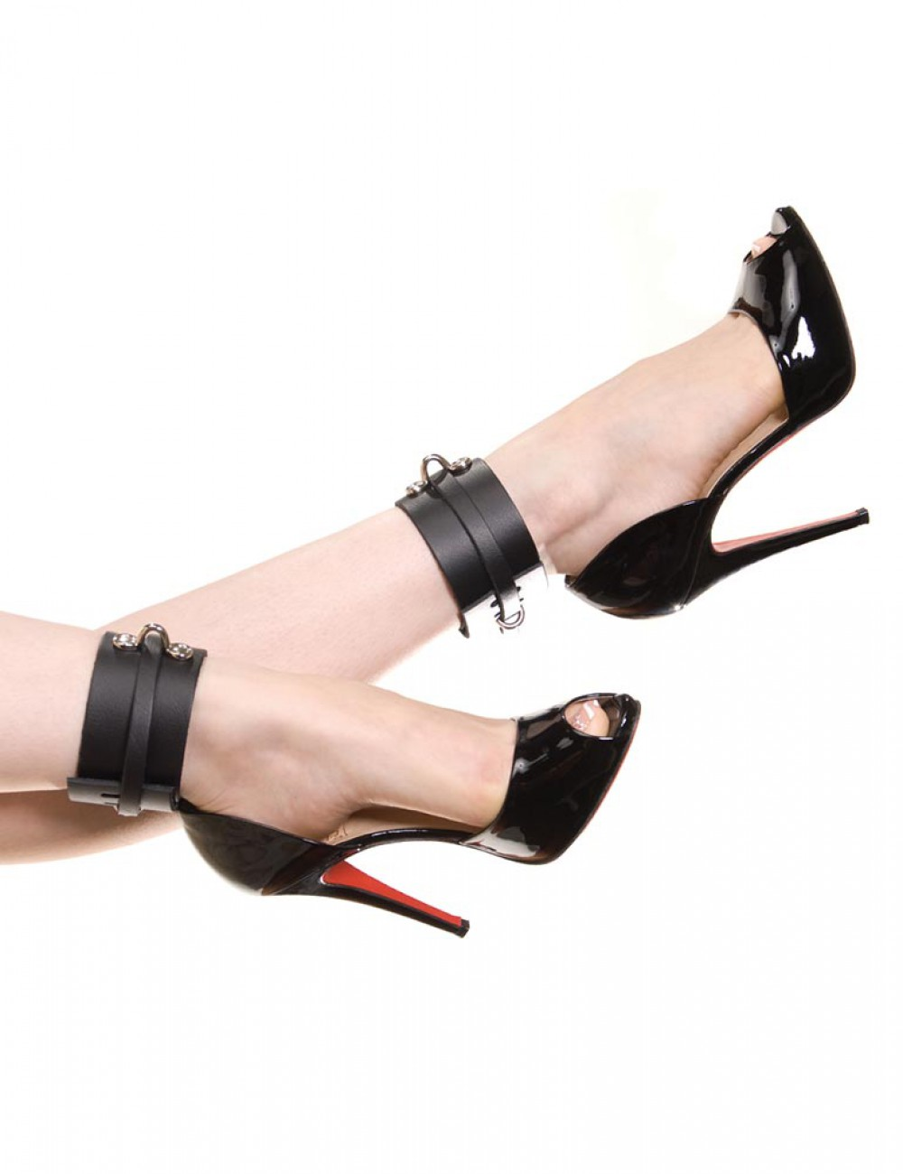 KinkLab Bondage Basics Leather Ankle Cuffs