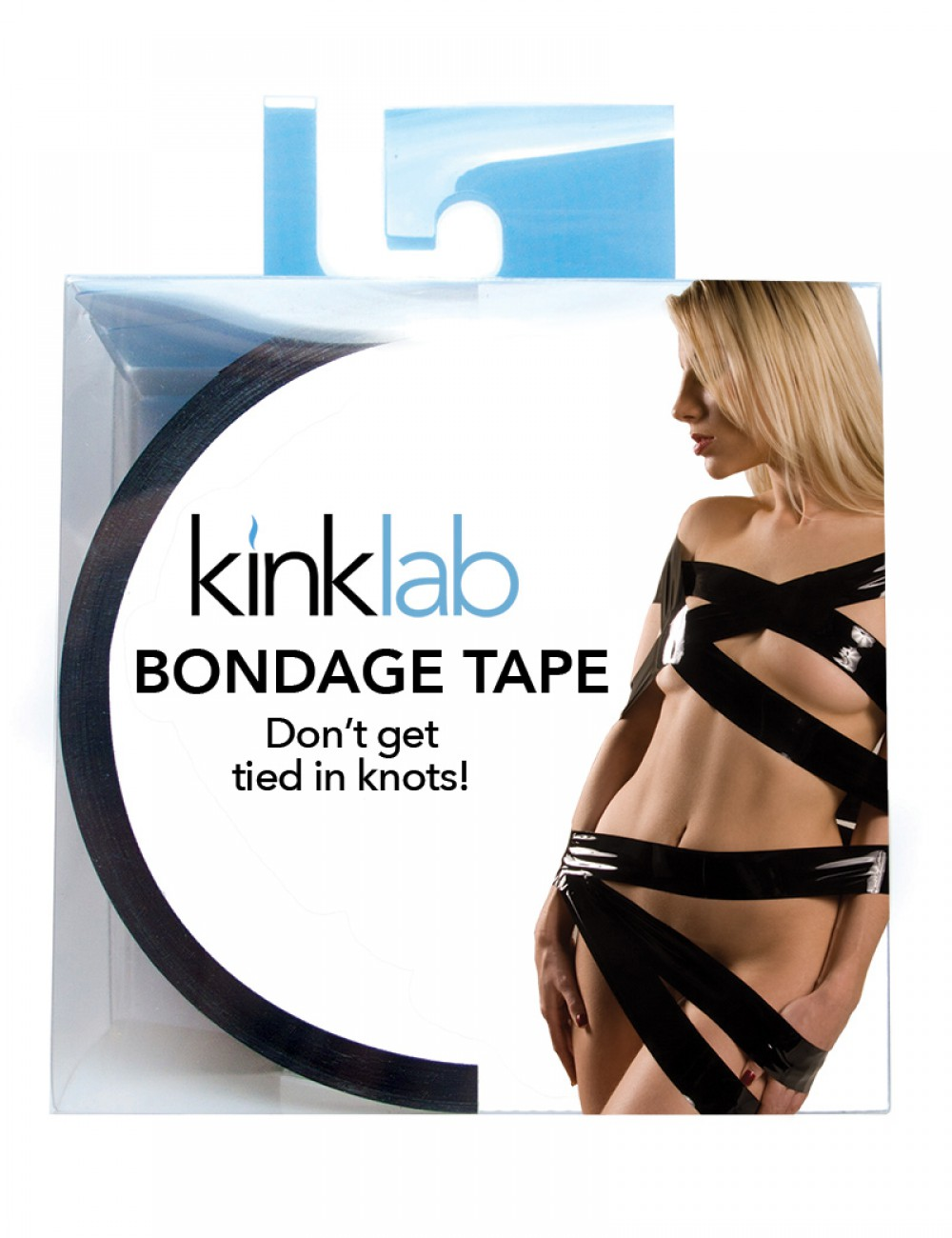 KinkLab Bondage Tape, Female Packaging