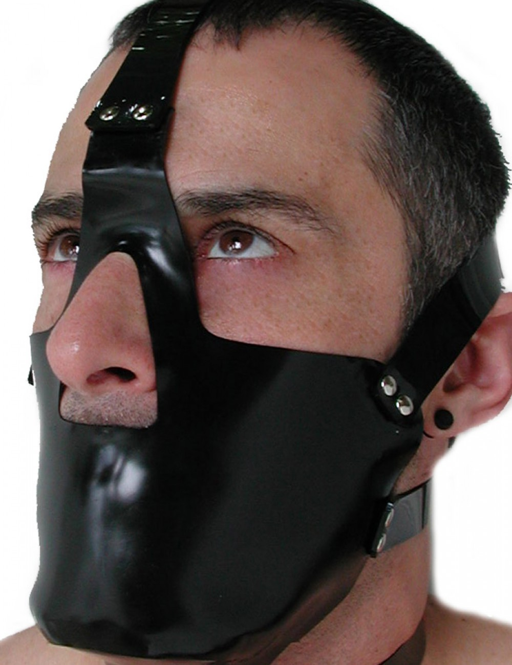 Rubber Head Harness w/ Muzzle