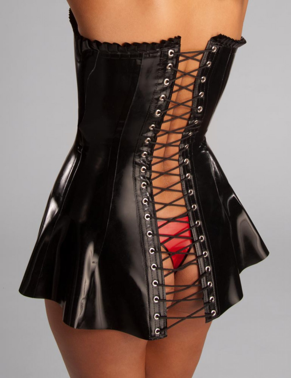 Rubber Corset Dress
