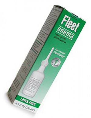 Ready-to-Use Disposable Saline Enema Kit by Fleet