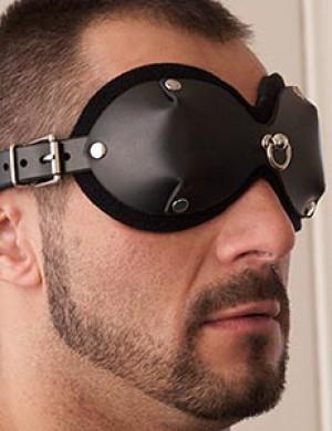 Mistress Heather Leather Blindfold