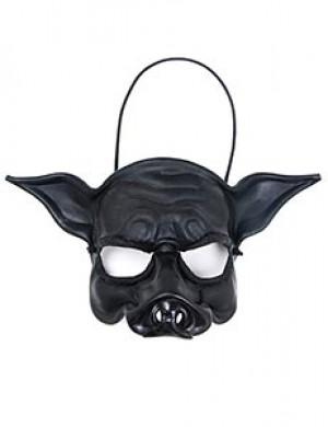 Black Pig Face Mask