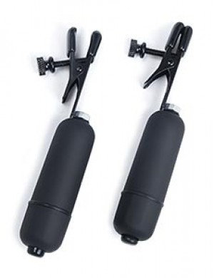 3-Speed Vibrating Nipple Clamps