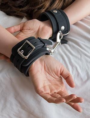 Silicone Locking Wrist Cuffs (Pair)