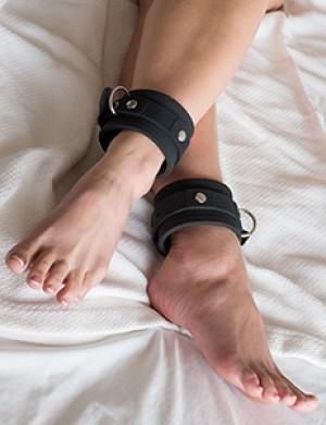 Silicone Locking Ankle Cuffs