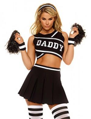Daddy's Girl Cheerleader Costume