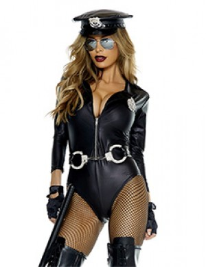 Do Not Cross Sexy Cop Costume