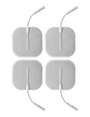 ElectraStim 4 x Square Self Adhesive Pads, 5cm x 5cm
