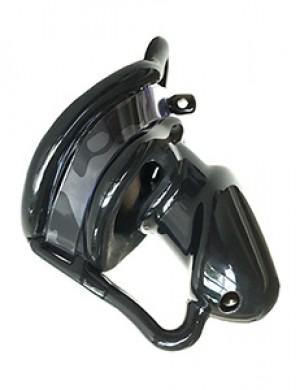 Birdlocked Silicone Neo Chastity Device, Black