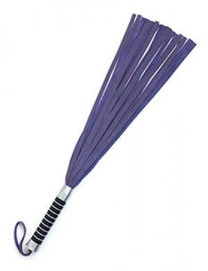 "Cowhide Flogger, Purple 22"" by BIDO"