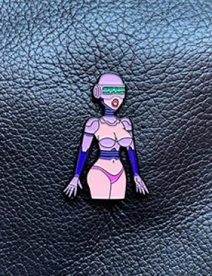 Sex Robot Enamel Pin