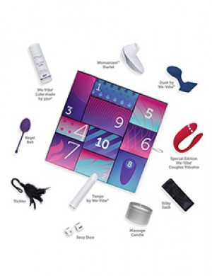 We-Vibe Discover Sex Toy Holiday Advent Kit