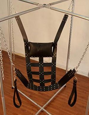 Leather Sling, Web Style