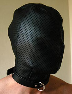 Total Enclosure Hood w/Perforated Leather