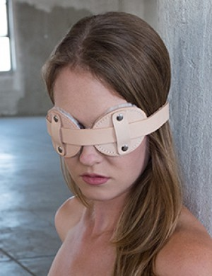 Institutional Fleece Lined Blindfold