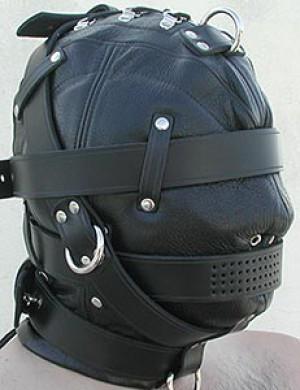 Heavy Duty Leather Hood