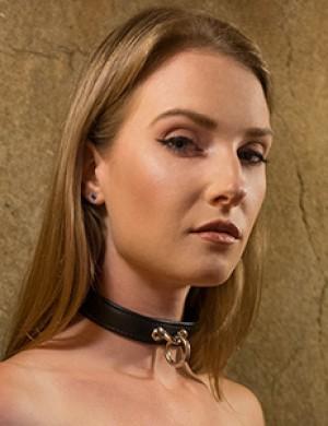 Premium Garment Leather Collar