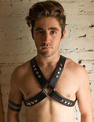 Garment Leather Chest Harness
