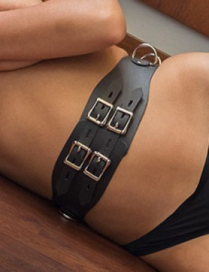 Vondage Lockable Waist Cincher Belt