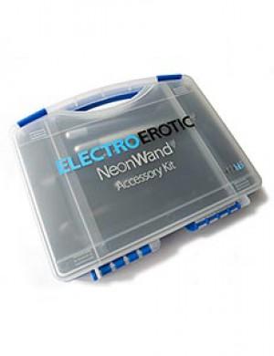 KinkLab Neon Wand Electrode Accessory Kit, Purple
