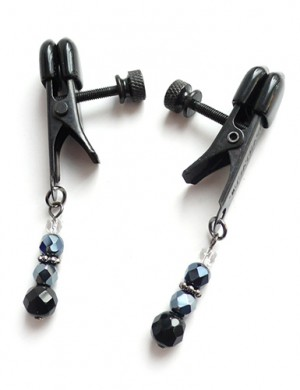 Beaded Spring Jaw Nipple Clamps