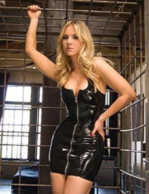 Tank Dress w/ Front Zipper