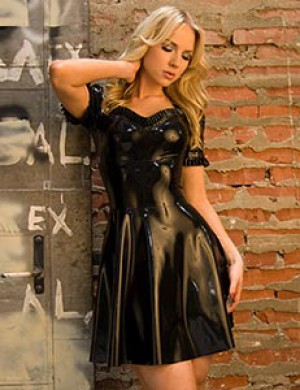 Rubber Heidi Dress