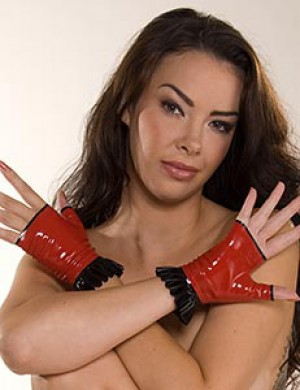 Pia Frilled Gloves