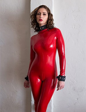 Full Latex Catsuit w/ Back Zip
