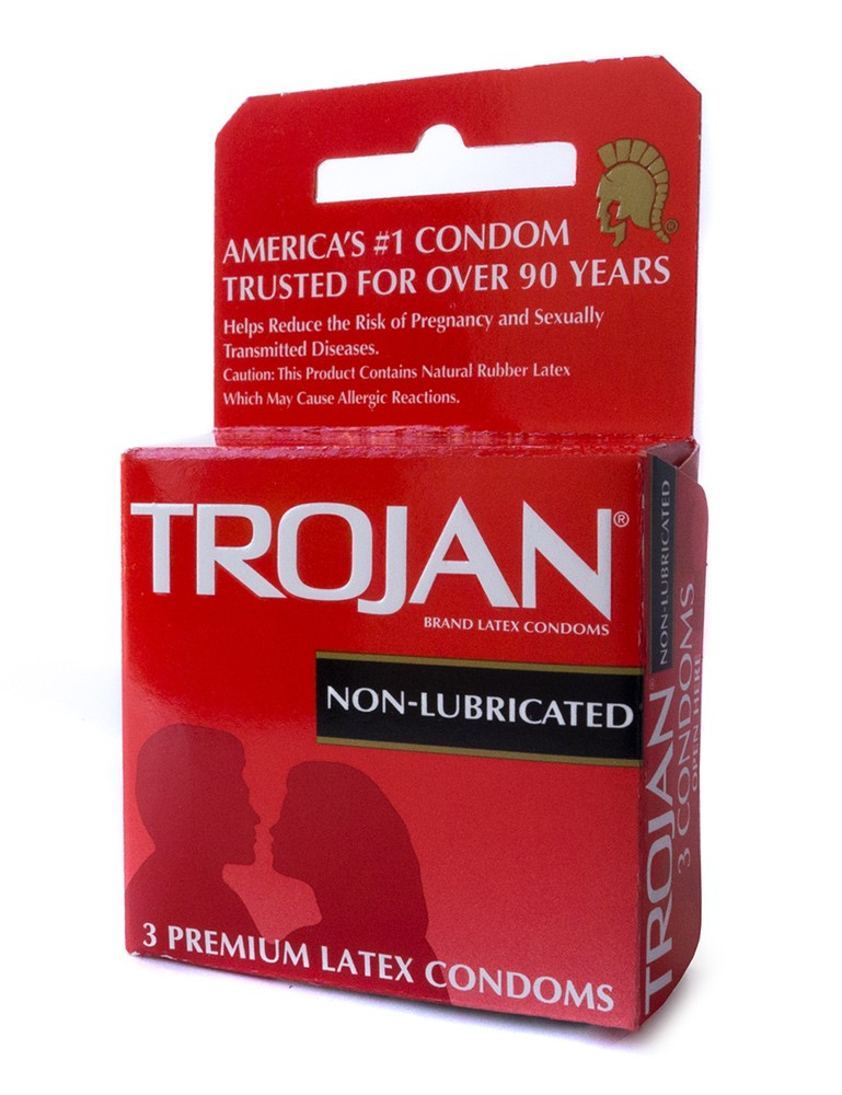 Trojan Condoms, 3-Packs-3281