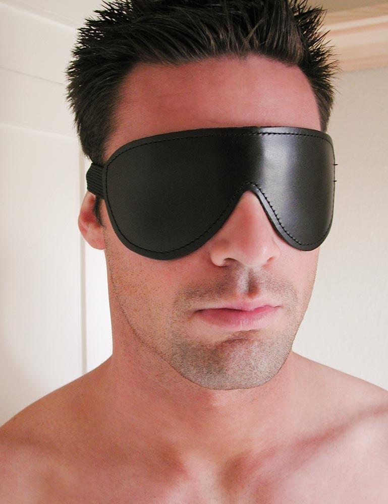 Padded Leather Blindfold
