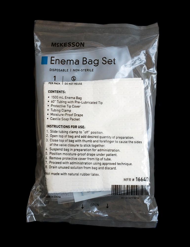 Disposable Enema Kit