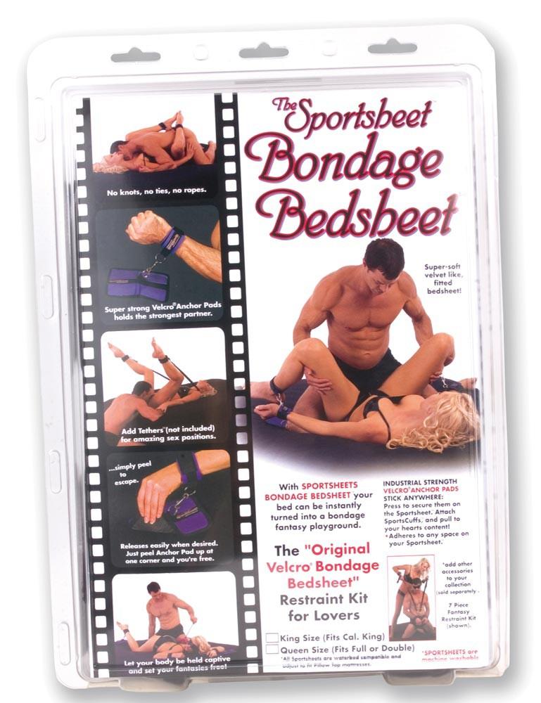Sportsheets Bondage Bedsheet