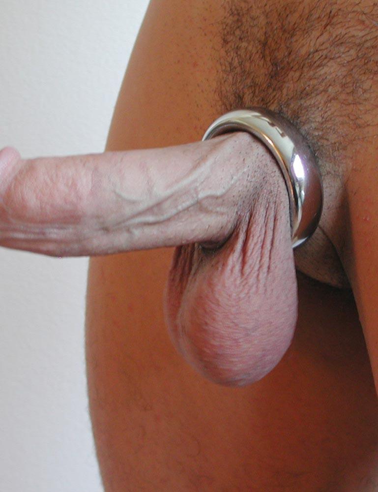 Chrome Donut Cock Ring
