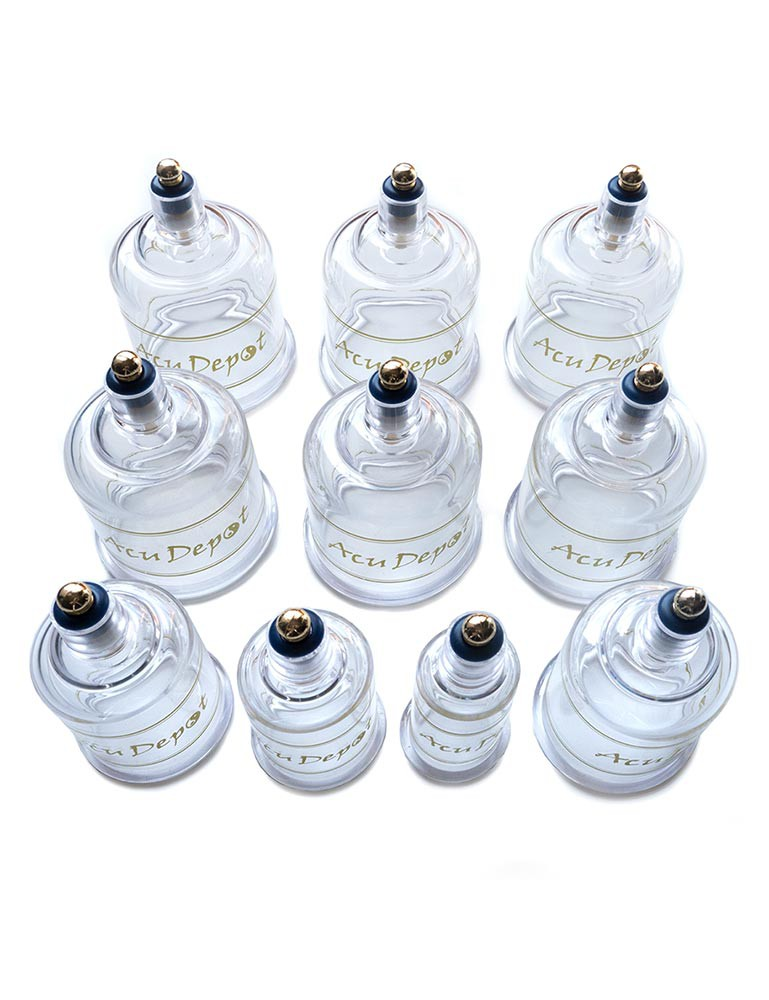 10-Piece Chinese Cupping Set