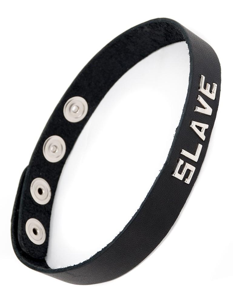 Word Collar - Slut, Slave