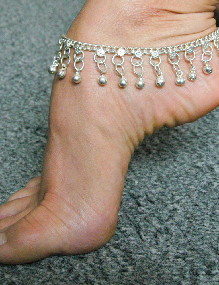 Metal Anklet w/ Slave Bells