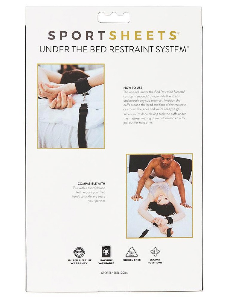 Under The Bed Bondage Restraint System