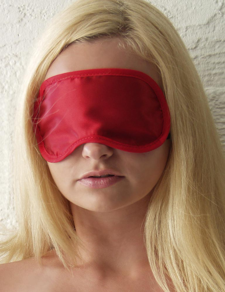 Cathy's Satin Blindfold