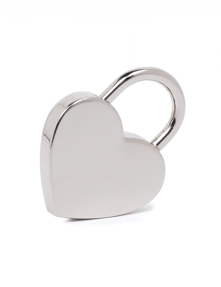 Large Heart Padlock