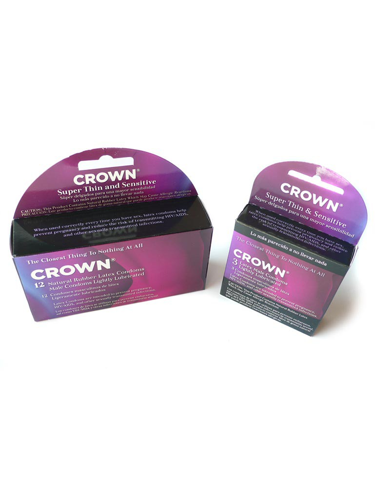 Crown Latex Condoms