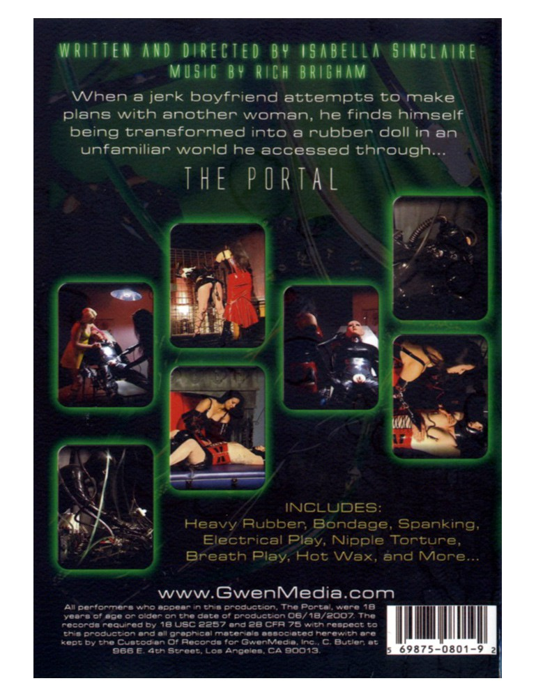 GwenMedia The Portal DVD