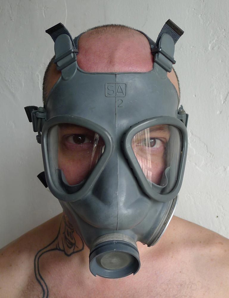Finnish Military Gas Mask